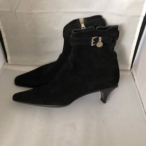 Prada suede ankle boots with buckle EU37.5 US7.5
